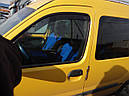 Дефлекторы окон (ветровики)  Renault Kangoo 1997-> 2008 2шт (Heko), фото 2