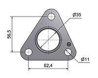 № 2505521 Комплект прокладок турбины Opel 1.7D, фото 1