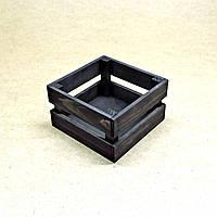Короб для хранения Милена 170х170мм венге