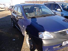 Дефлекторы окон (ветровики)  Renault Logan 2004-> 4D 4шт (Heko)