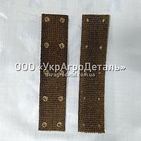 Накладка тормозной колодки ЮМЗ 36-3502052