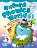 Oxford Phonics World 1 The Alphabet Student's Book with MultiROM