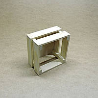 Короб для хранения Милена 170х170мм бланже