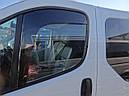 Дефлекторы окон (ветровики)  Renault Trafic 2001->/Opel Vivaro 2001 2шт (Heko), фото 3