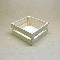 Короб для хранения Милена 220х220мм бланже