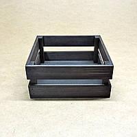Короб для хранения Милена 220х220мм венге