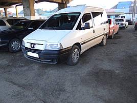 Дефлектори вікон (вітровики) FIAT Scudo ->2007 Pegout Expert ->2007 2шт (Heko)