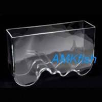 Aquael Aqua Decoris аквариум Волна ручной работы, 8л