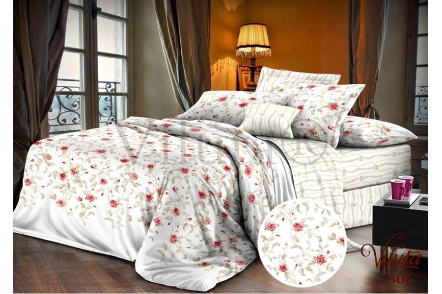 Комплект постельного белья Вилюта сатин твил 306 полуторный (70*70)