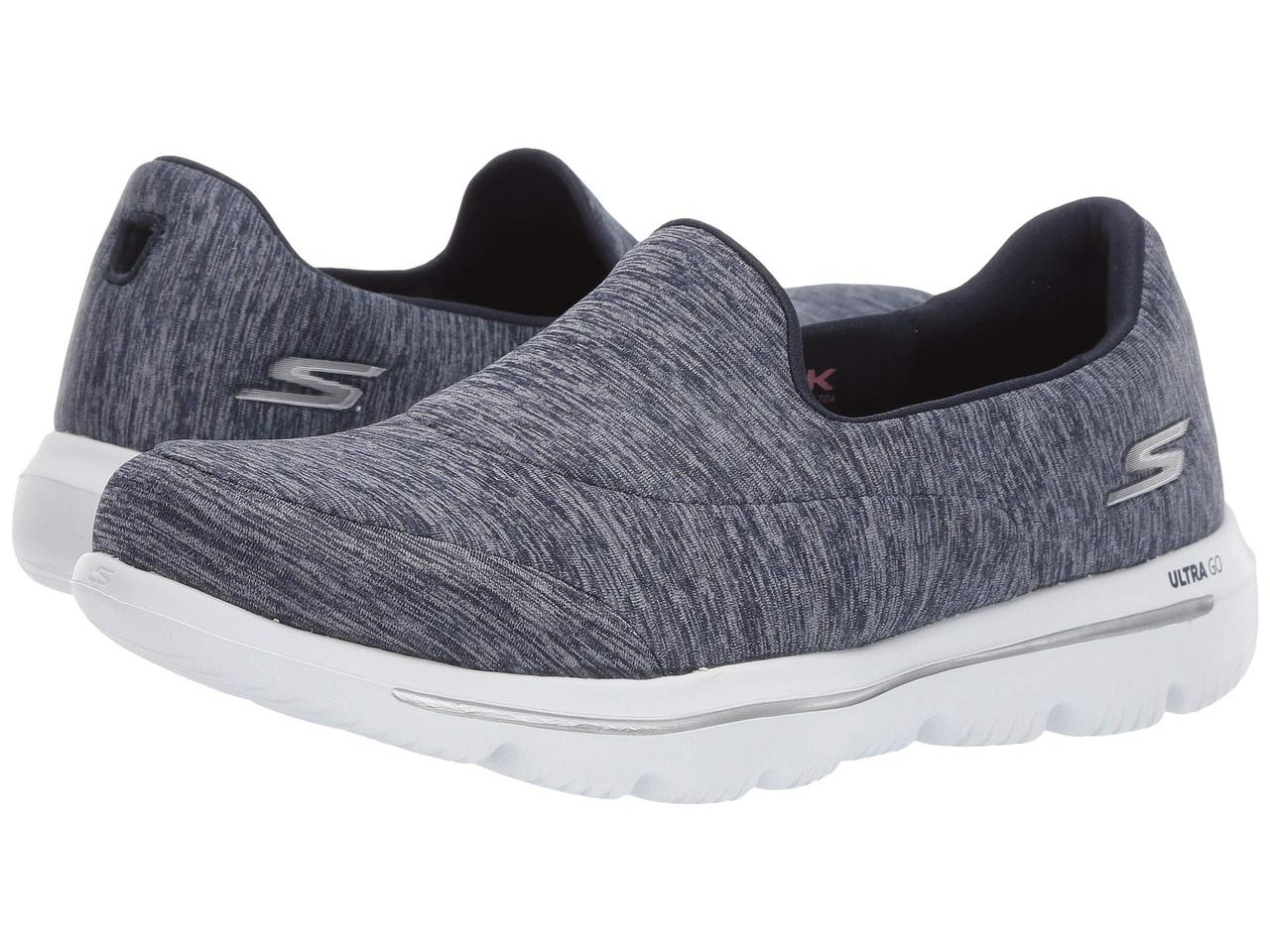 Кроссовки/Кеды (Оригинал) SKECHERS Performance Go Walk Evolution Ultra - 15733 Navy/White