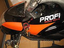 Детский квадроцикл Profi HB - 6 EATV 800W черно-зеленый с фарой, фото 3