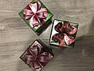 Подарочная бумажная коробка Кубик 10,5*9,5 см Девочка 300 грамм, фото 2