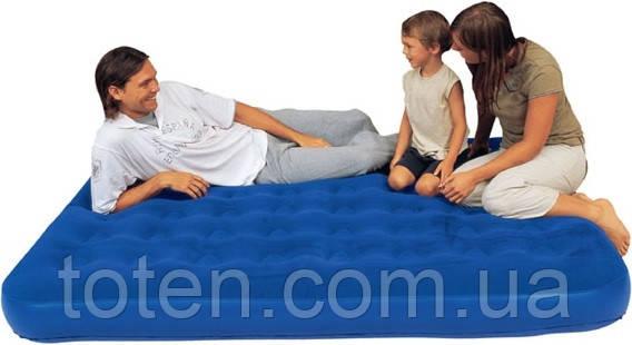 Двуспальный надувной матрас Bestway 67003 (203х152х22см) 11