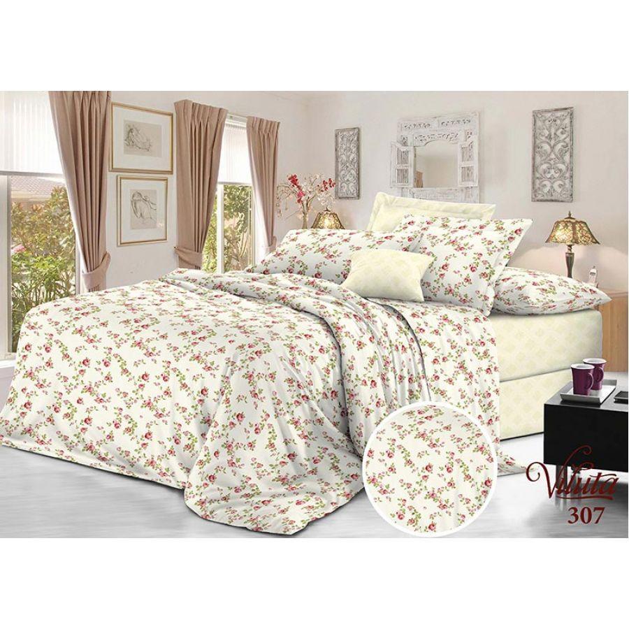 Комплект постельного белья Вилюта сатин твил 307 полуторный (70*70)