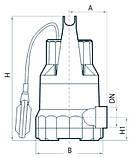 Дренажный насос Rudes DRP 30–750, фото 4