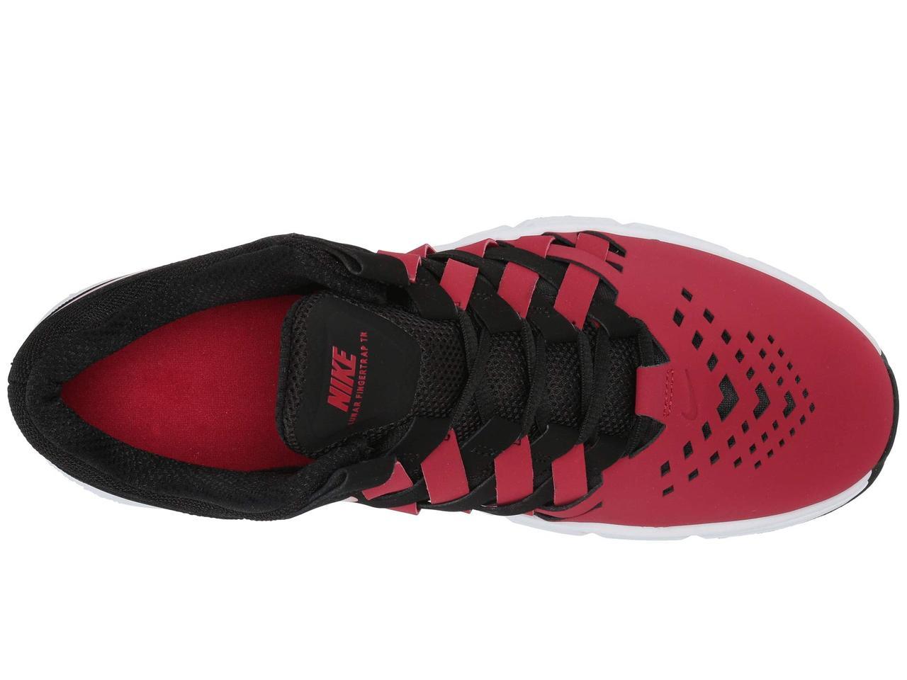 f5a3fb9d7e6b Кроссовки Кеды (Оригинал) Nike Lunar Fingertrap TR Black Gym Red 1 ...