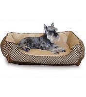 3164 K&H Pet Products Лежак Beige Self-Warming, 76х61x23 см