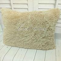 Чехол для подушки травка  50х70 см., цвет крем-брюле