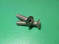 Винт ( болт ) DIN 7991 A2 M5 25 мм нержавейка с внутренним шестигранником