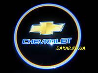 Проектор логотипа Chevrolet в автомобильные двери Шевроле