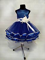 Детское нарядное выпускное платье для девочки