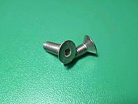 Винт ( болт ) DIN 7991 A2 M5 16 мм нержавейка с внутренним шестигранником