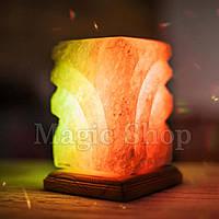 Соляная лампа 5 элемент, ночник HealthLamp