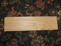 Массивная доска пола (дуб), сорт Селект, 15х100х300-900
