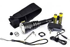 Поисковый фонарь Nitecore MH40 THOR (Cree XM-L2 T6, 1000 люмен, 6 режимов, 2x18650), комплект, фото 3