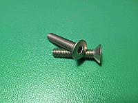 Винт ( болт ) DIN 7991 A2 M4 20 мм нержавейка с внутренним шестигранником