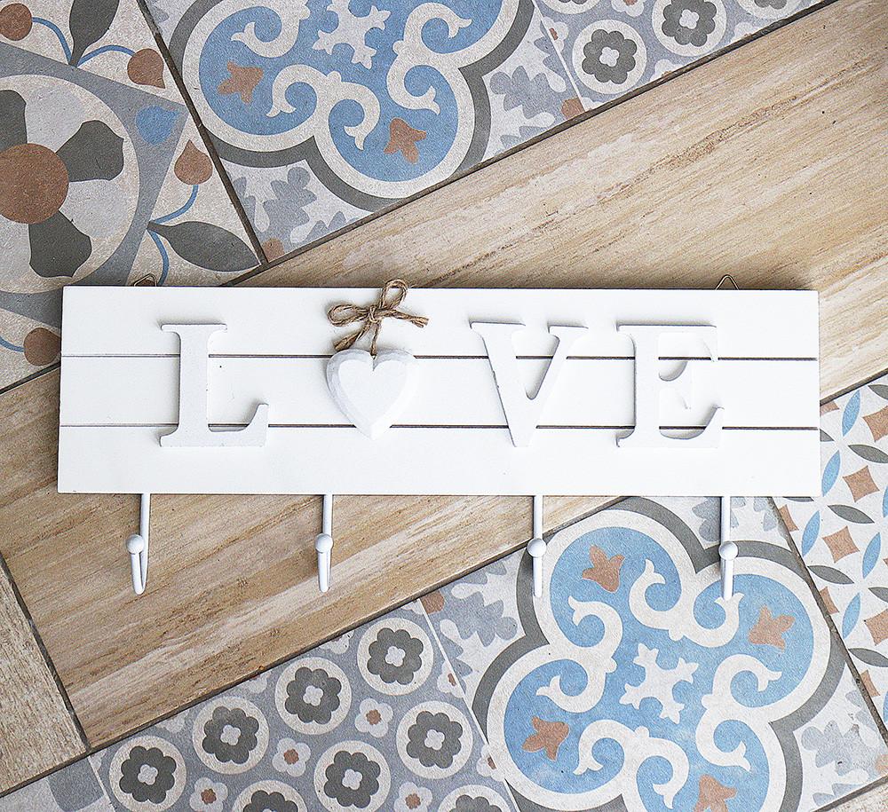 Ключниця LOVE на 4 гачка 178919