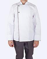 Поварской китель белый, униформа для персонала, индивидуальный пошив, все размеры