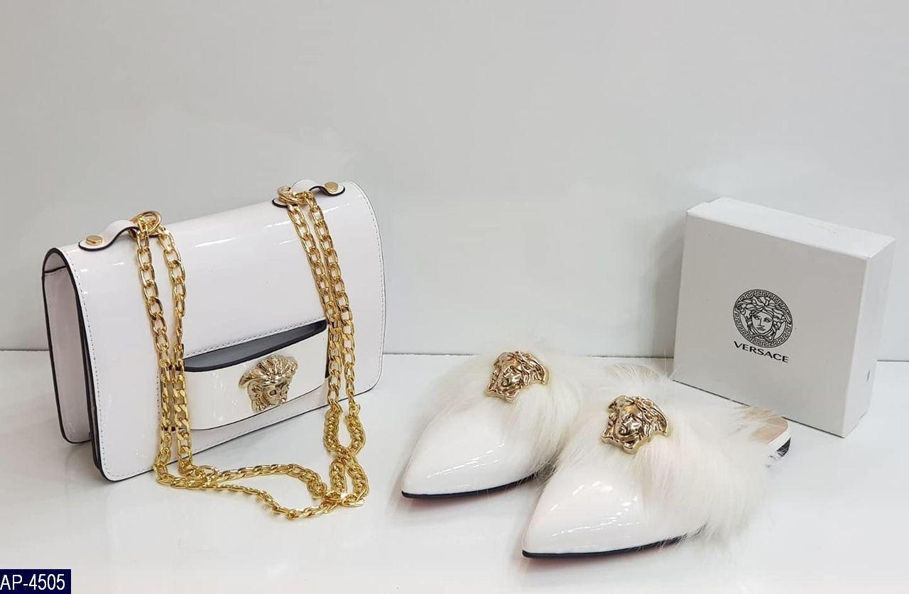 Сумка женская Versace 3 цвета Турция Эко-лак Высокое качество под заказ 5-10 дней