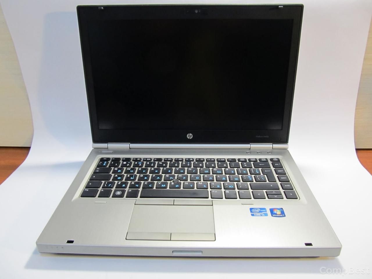 "HP EliteBook 8460p / 14"" TFT (1600x900) / Intel® Core™ i5-2540M (2 ядра (4 потока) по 2.6 - 3.3 GHz) / 8 GB DDR3 / 320 GB HDD / Wi-Fi, Bluetooth,"