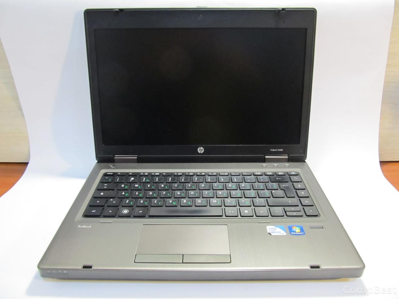 """HP ProBook 6460b / TFT 14"""" (1600x900) / Intel® Celeron® B840 (2 ядра по 1,9Ghz) / 4 GB DDR3 / 320 GB HDD / Wi-Fi, Bluetooth"""