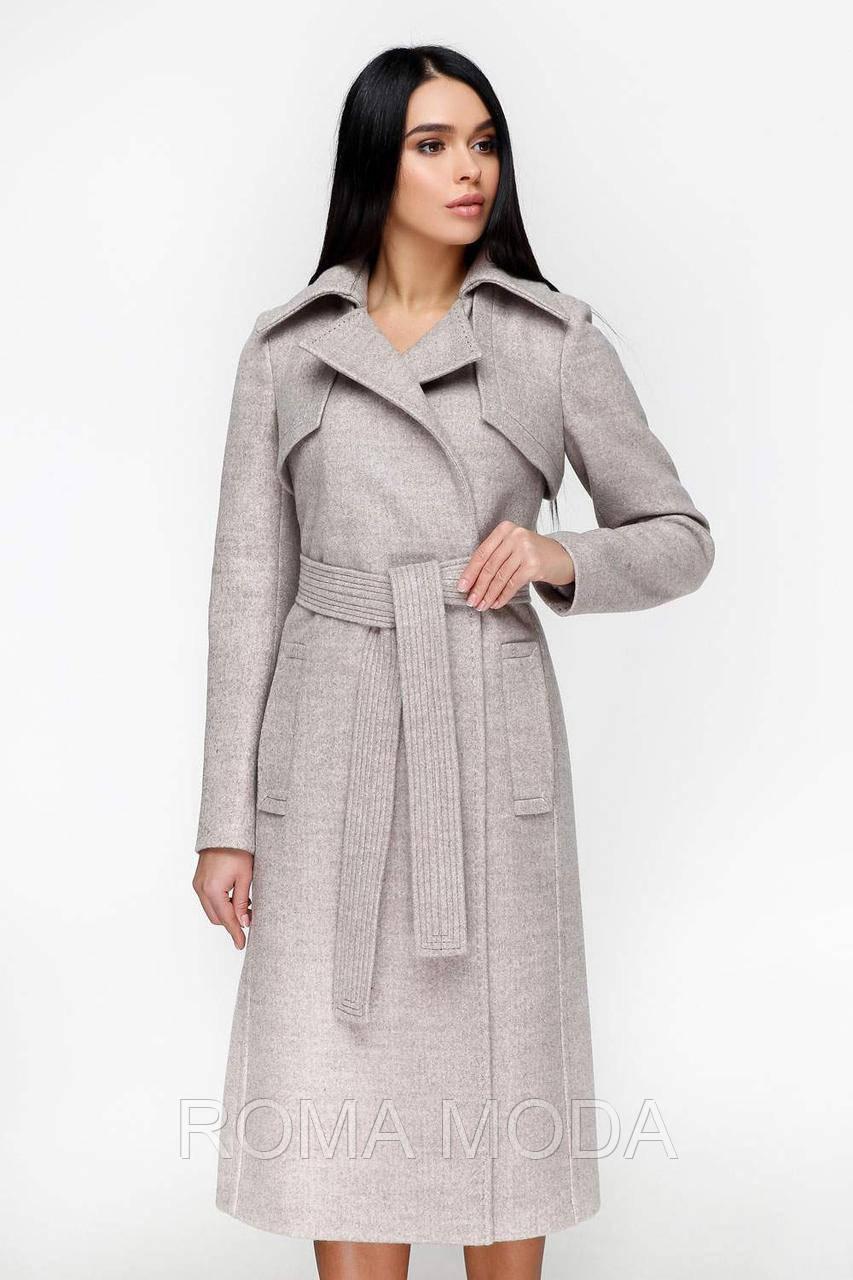 Женское демисезонное пальто классическое в 5ти цветах В-1178 Арт. 50061