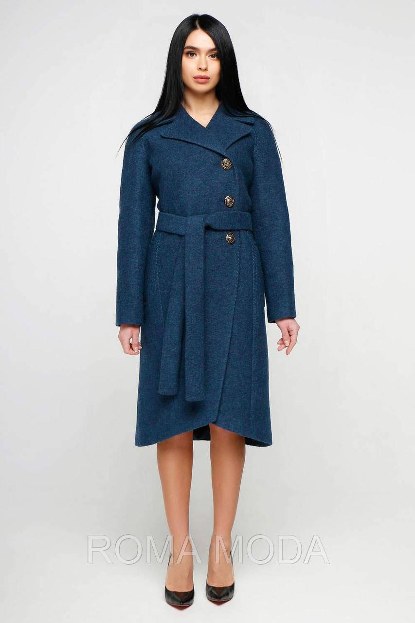 Женское демисезонное пальто классическое в 5ти цветах В-1179 Cost