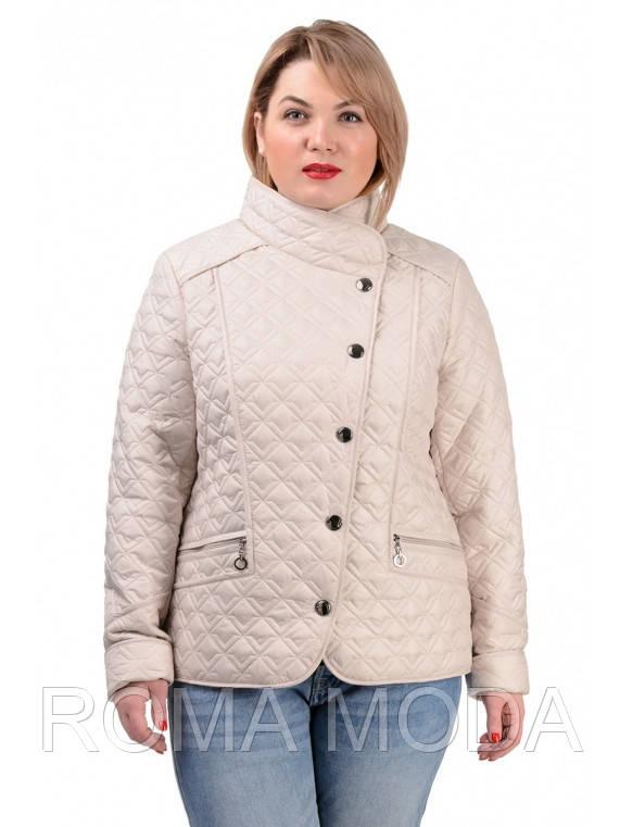Куртка женская демисезонная в 5ти цветах №231 размер 50-56