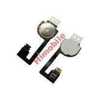 Шлейф для iPhone 4S, 4GS кнопки меню Home