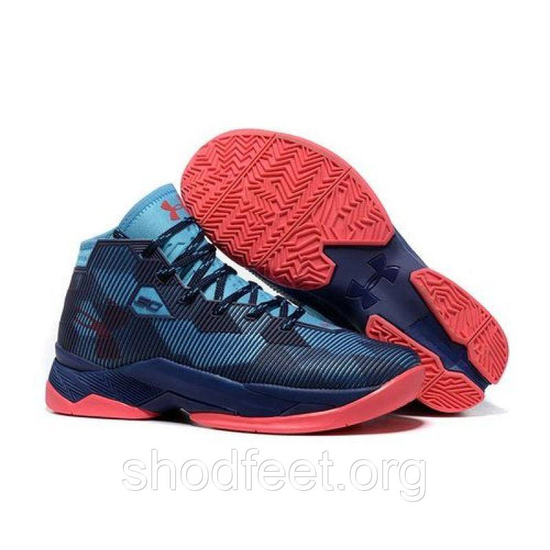 Кроссовки Under Armour Curry 2.5 Blue Red