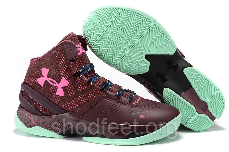 Кроссовки Under Armour UA Curry Two Bhm Mojo Pink