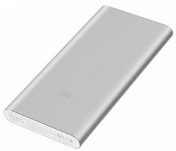 Внешний аккумулятор Xiaomi Mi Power Bank 2 Silver 10000mAh ORIGINAL серебристый