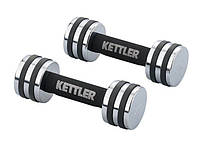 Гантели для фитнеса хром. Kettler (2*4кг) KTLR7446-450