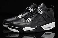 """Мужские Баскетбольные кроссовки Air Jordan Retro 4 """"Oreo"""" , фото 1"""