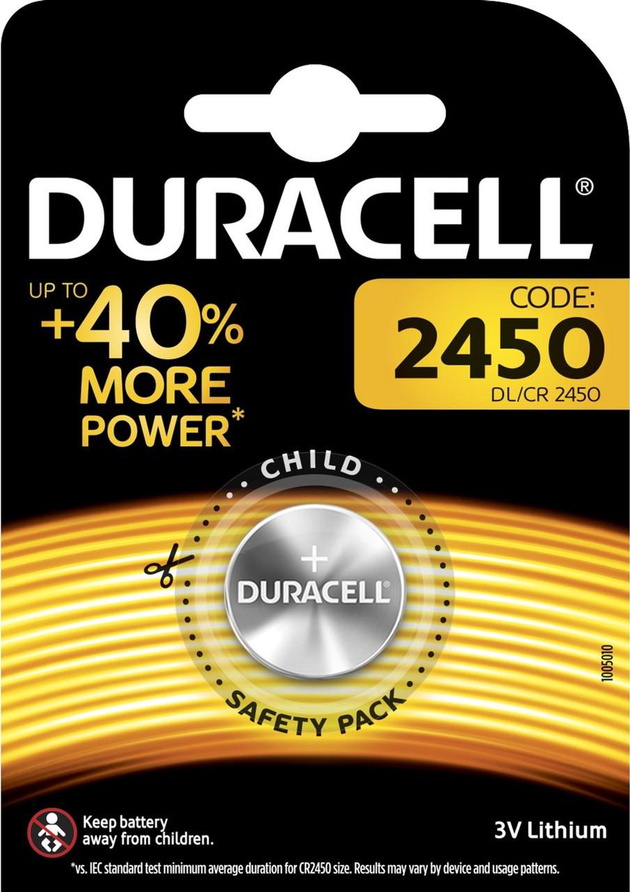 Батарейка Duracell CR2450