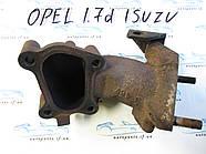 Колено турбины, фланец опель 1.7 исузу, opel isuzu 1.7DTI 97213187