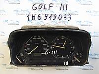 Панель приборов Golf 3, Гольф 3 1H6919033
