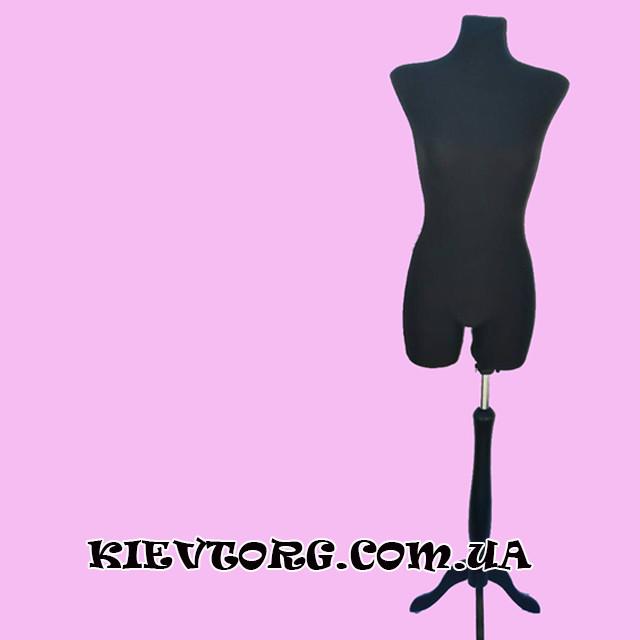 Манекен портновский брючный женский для шитья одежды, торс пенопластовый бельевой  (Польша)