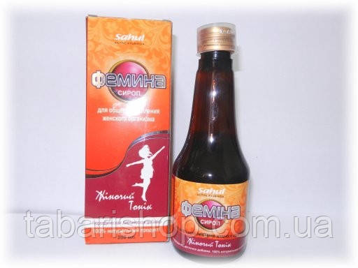 Фемина сироп, Femina syrup, Femina Female Uterine Tonic Sahul,  200 мл