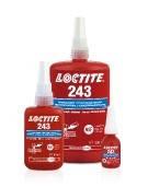 Анаэробный резьбовой фиксатор средней прочности Loctite 243 (10 мл.)